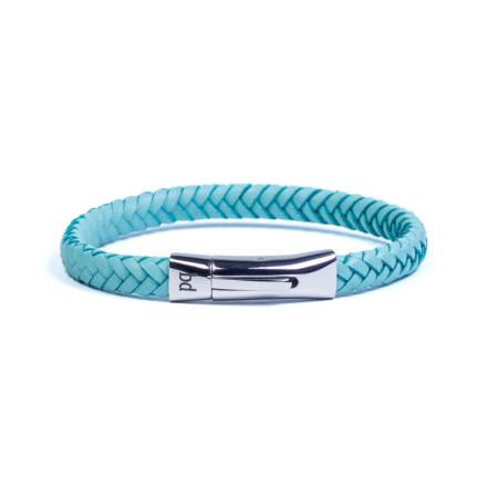 Кожаный браслет Paris Blue