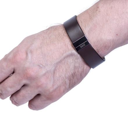 Кожаный браслет Chester Dark