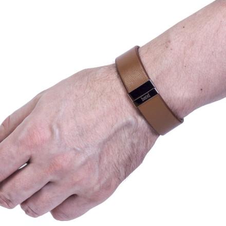 Кожаный браслет Chester Brown