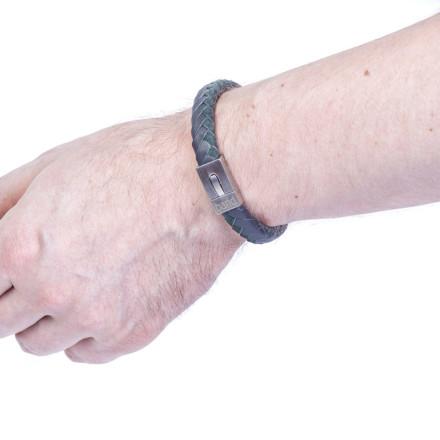 Кожаный браслет Colorado Grey