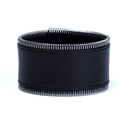 Кожаный браслет Addicted Black
