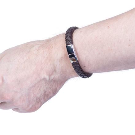 Кожаный браслет Berlin Brown