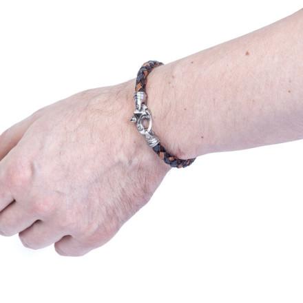 Кожаный браслет Kingston Mix