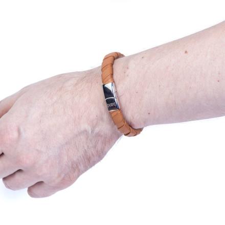 Кожаный браслет Greenwich Ginger