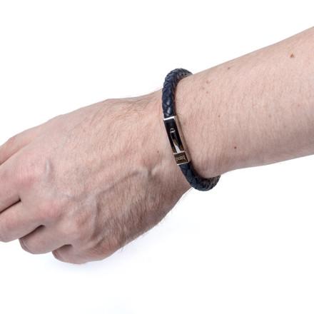 Кожаный браслет Hudson