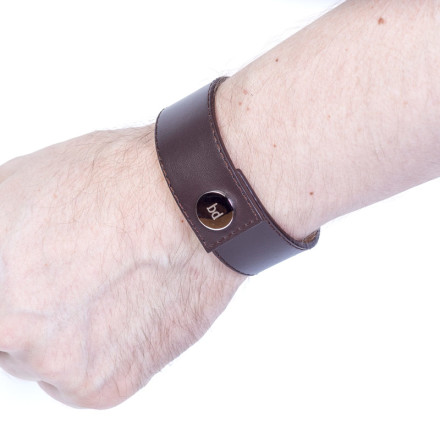 Кожаный браслет Soho