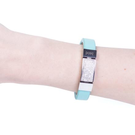 Кожаный браслет Elegance Blue