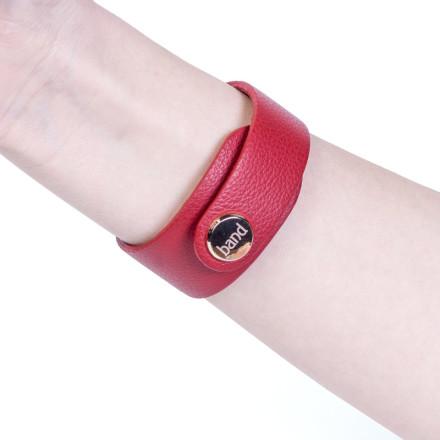 Кожаный браслет Drive Red