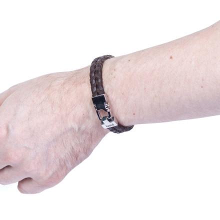 Кожаный браслет Dublin