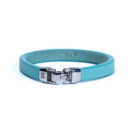 Кожаный браслет Choice Blue