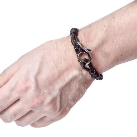 Кожаный браслет Waco