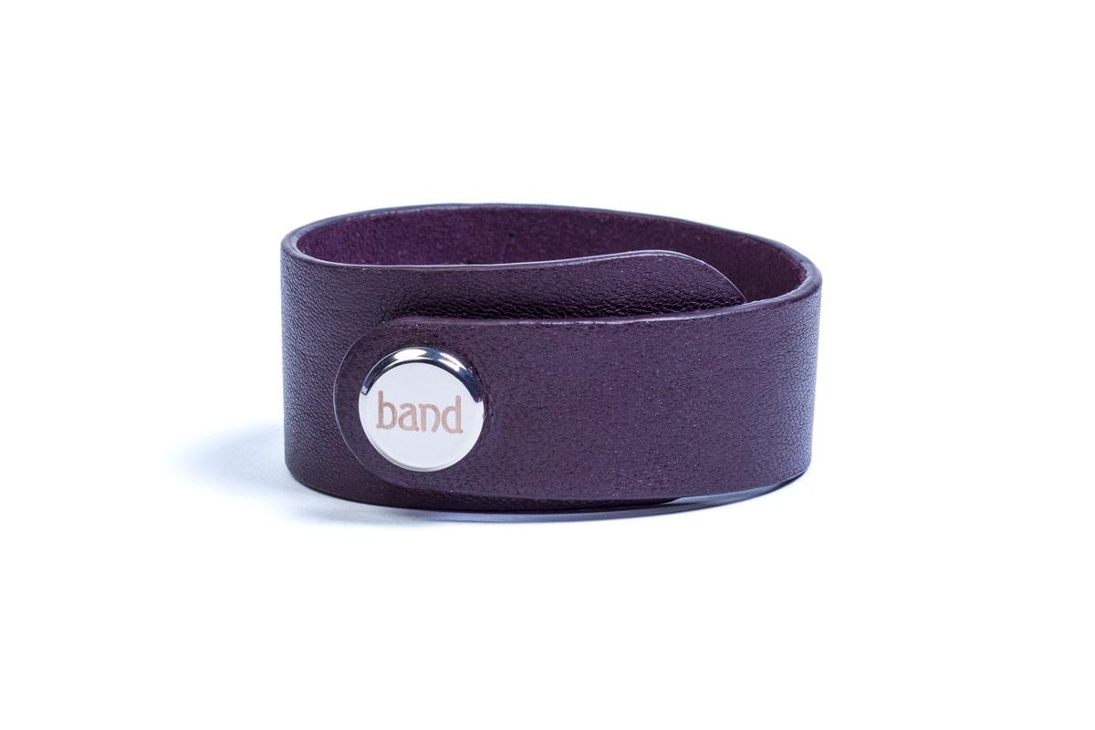 кожаный браслет Drive Violet