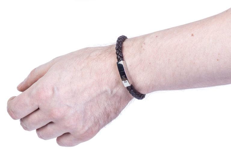 Кожаный браслет Murphy