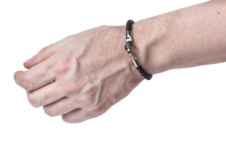 Кожаный браслет Texas Black