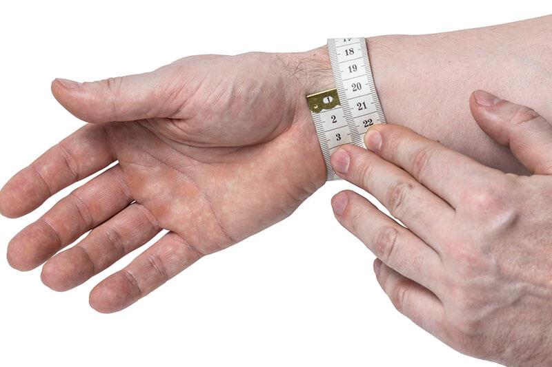 как определить размер браслета