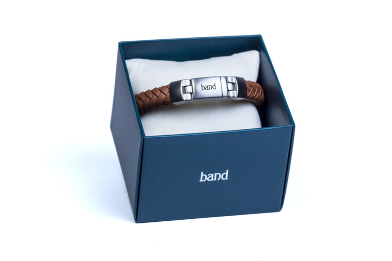 Кожаный браслет Madison Brown
