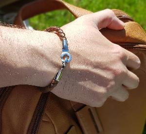 купить кожаный браслет