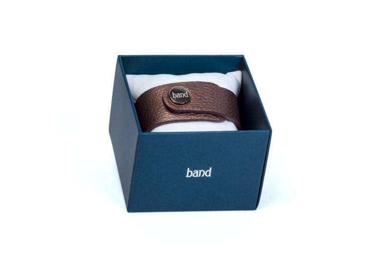 Кожаный браслет Drive Chocolate