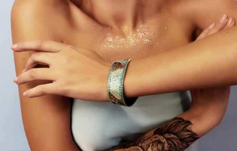 Кожаный браслет Magic
