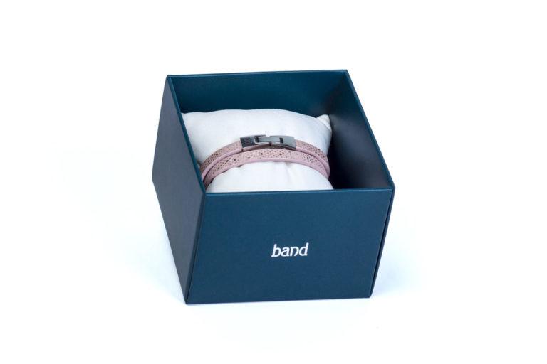 Шкіряний браслет Tender Pink