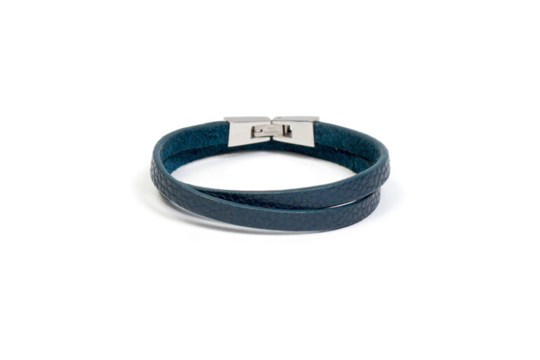 Кожаный браслет Tender Green